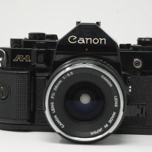 appareil photo argentique Canon A-1